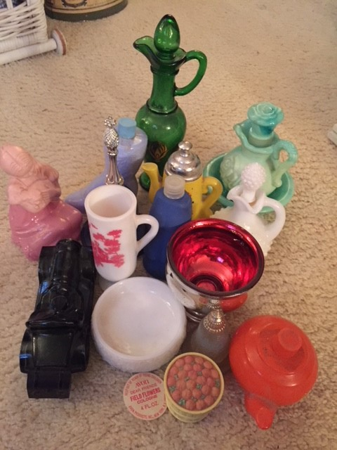 Miscellaneous Lot of Vintage Avon