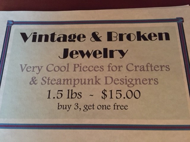 Vintage & Broken Jewelry By the Pound