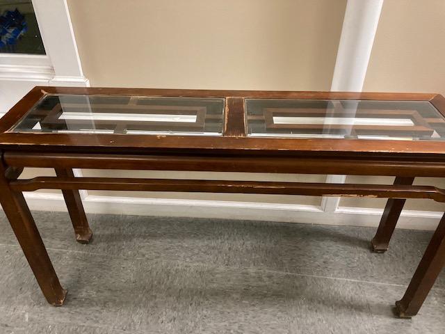 henredon-console-table